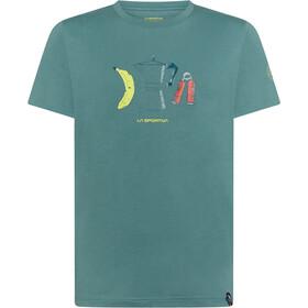 La Sportiva Breakfast T-Shirt Uomo, verde